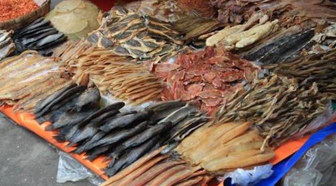 Khô cá miền Tây