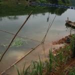 Nuôi cá quây lưới trên hồ Thác Bà