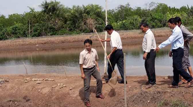 Giải pháp kỹ thuật đối phó với tình hình hạn, mặn trong nuôi thủy sản